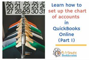 QuickBooks Online Chart of Accounts Tutorial