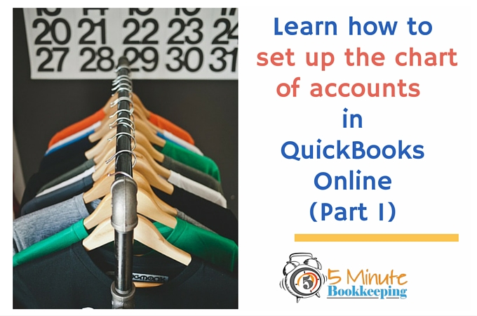 How to set up the chart of accounts - Part 1