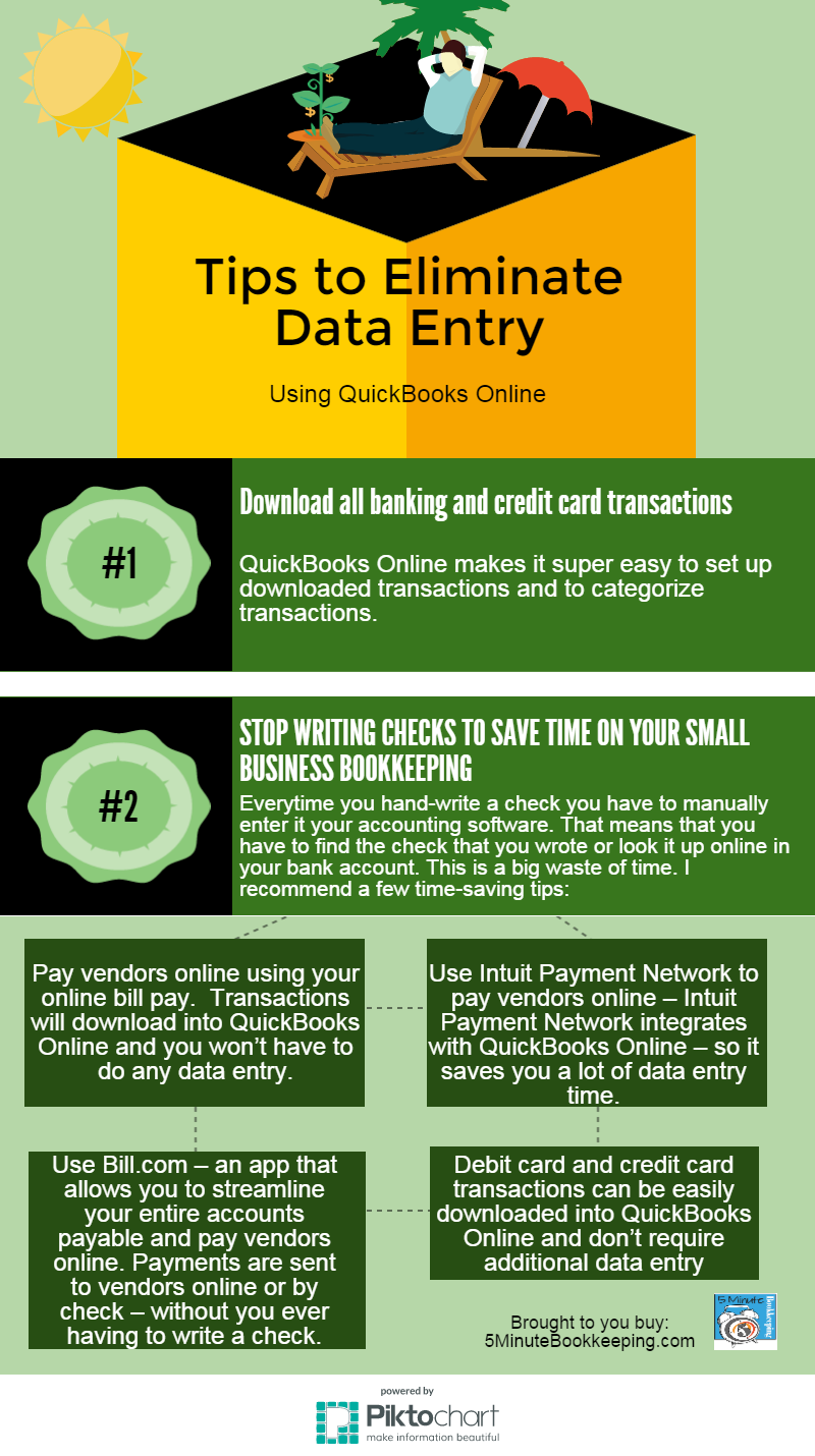 eliminate data entry