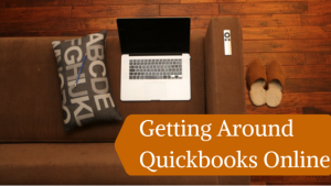 Getting Around in QuickBooks Online