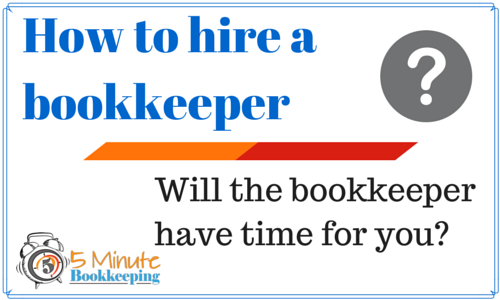 How to hire a bookkeeper questions to ask