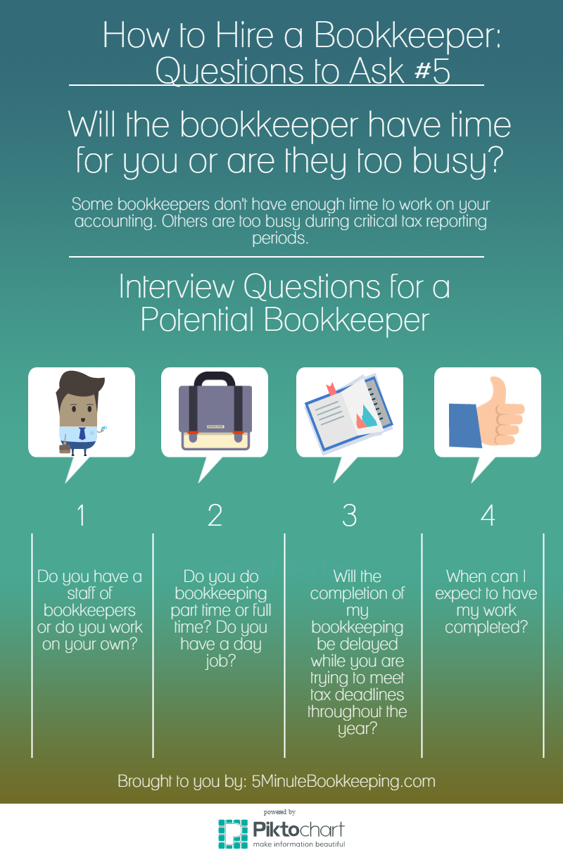 how to hire a bookkeeper 5