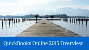 QuickBooks Online 2015 Overview