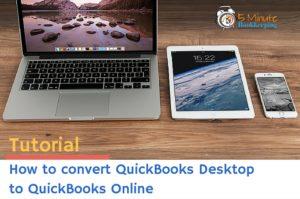How to Convert QuickBooks to QuickBooks Online