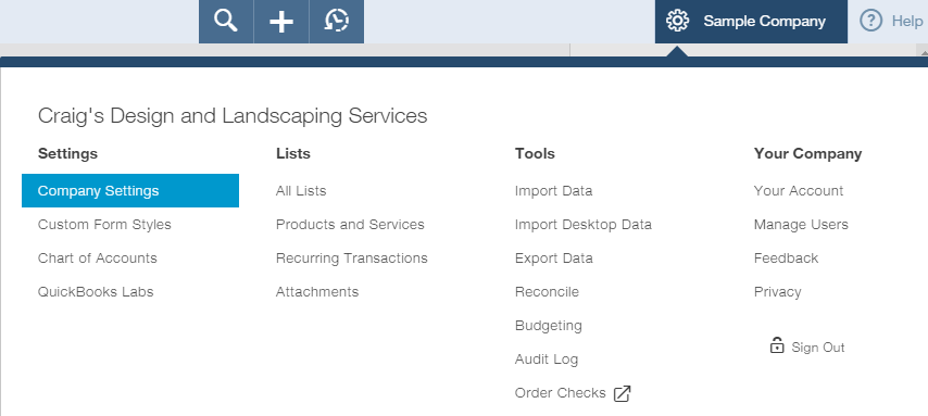 How to customize sales settings in QuickBooks Online