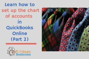 Setting Up the Charts of Accounts: How to Set Up Chart of Accounts Part 2