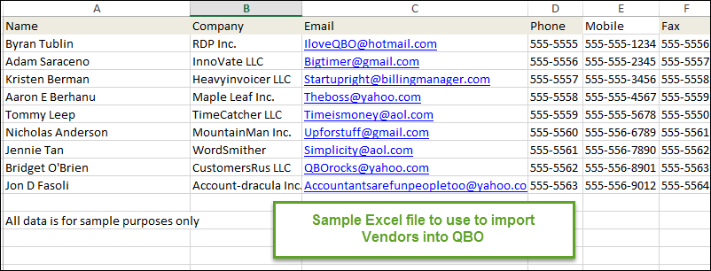 How to add vendors in QuickBooks Online