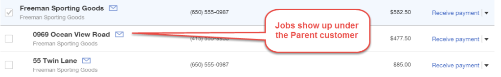 How to add jobs in QuickBooks Online