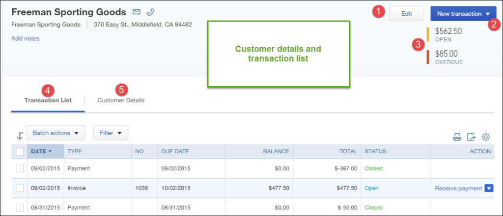 How to access the Customer Center in QuickBooks Online