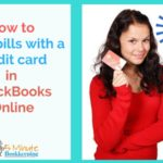 How to Pay Bills in QuickBooks Online with a Credit card