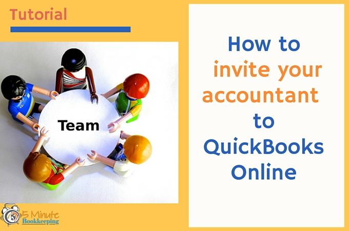 How to invite your accountant to QBO