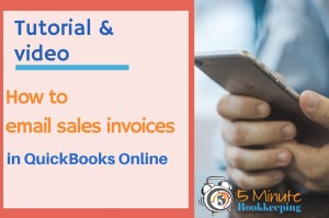 How to Email Sales Invoices in QuickBooks Online