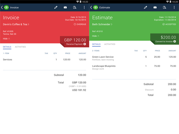 Can you access QuickBooks Online with your iPhone or Android Device