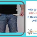 how to enter nsf checks in quickbooks online