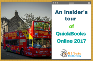 An insider's tour of QuickBooks Online 2017
