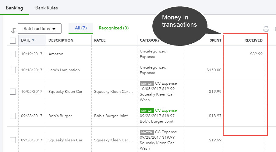 Reconciling accounts in QuickBooks Online (Bank feeds training)