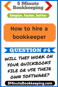 How to hire a bookkeeper: Questions to ask -Question #4