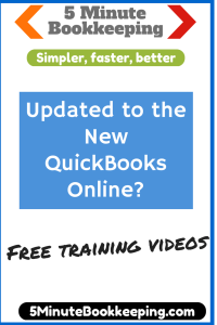 Updated to the new QuickBooks Online version recently?
