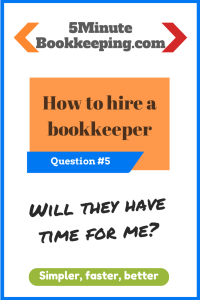 how to hire a bookkeeper - question 5