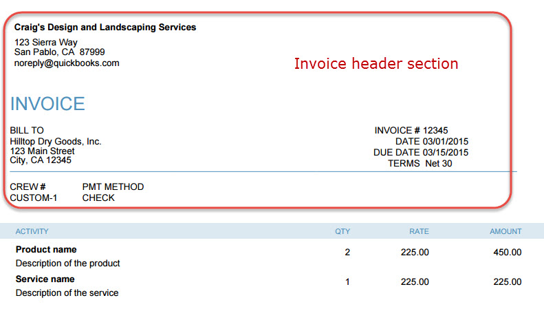 How To Customize Customer Invoices In QuickBooks Online  Customize Invoice
