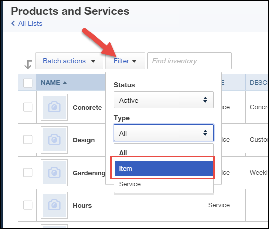 How to Set Up Inventory on QuickBooks Online