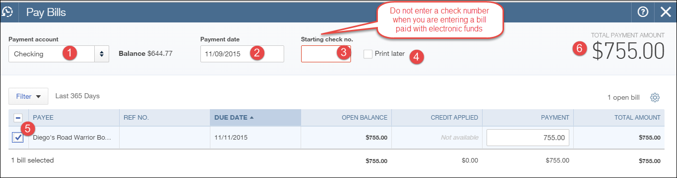 Can You Do Wire Transfer Online | How To Pay Bills In Quickbooks Online With An Eft Wire Transfer Or Ach
