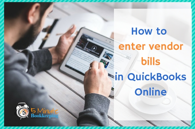 how to create a vendor in quickbooks online