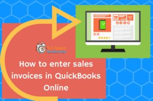 How to Enter Invoices in QuickBooks Online