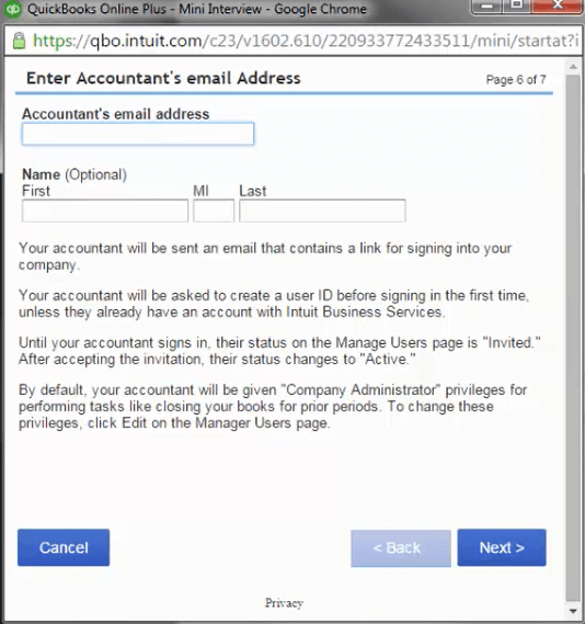 How to Invite Your Accountant to QuickBooks Online