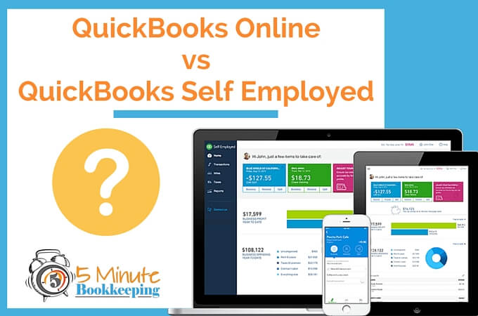 QuickBooks Online vs QuickBooks Self Employed