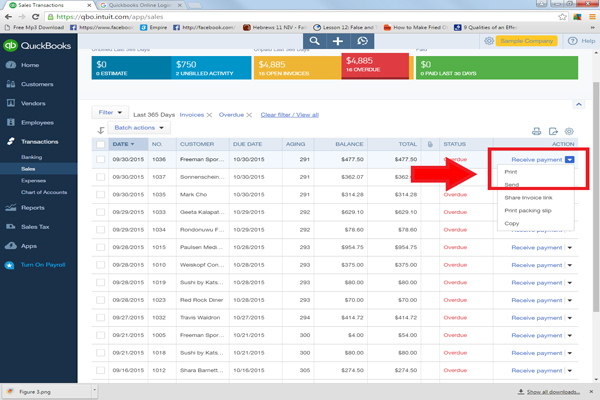 How To Send Past Due Reminders In Under Seconds - Quickbooks invoice reminders