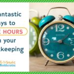 5 Fantastic ways to save hours on your bookkeeping