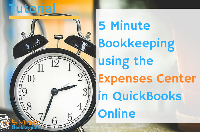 how to add expenses to quickbooks online