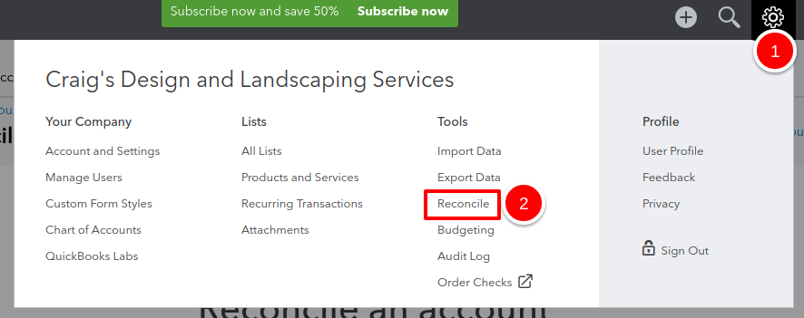 how to clear and uncleared transaction in quickbooks