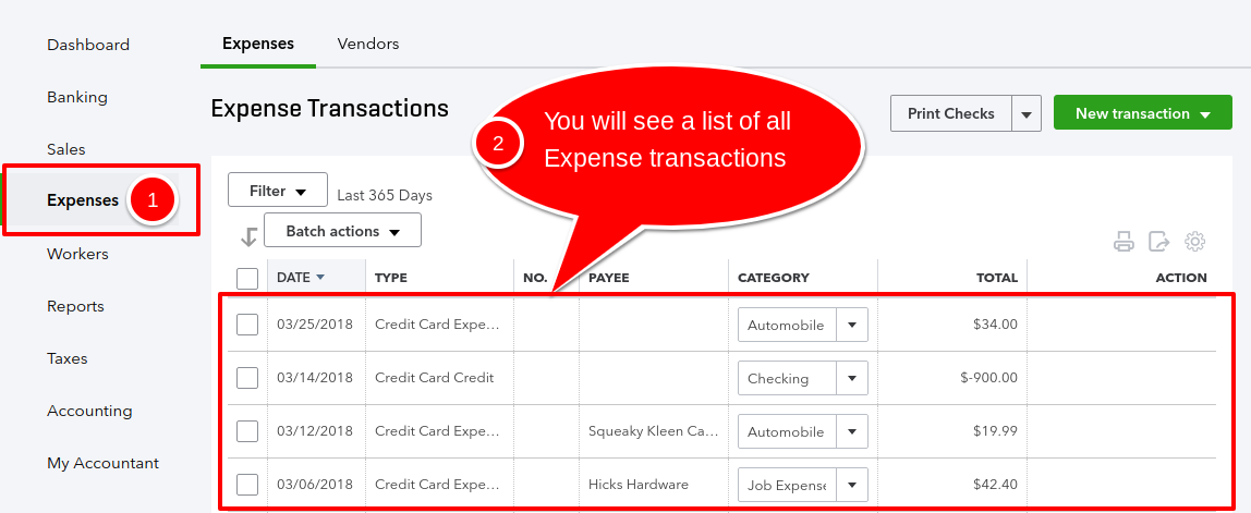 How to fix Uncategorized Income and Expenses in QuickBooks