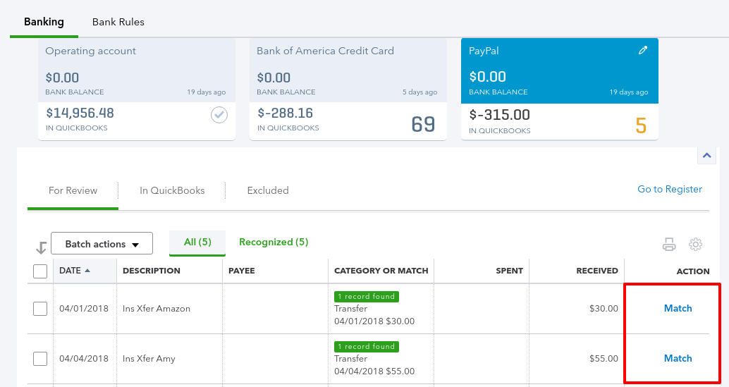 How to link PayPal to QuickBooks Online