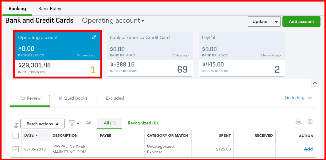 How to link PayPal to QuickBooks Online [Part 3]